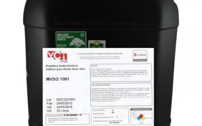 MVSQ® 1061 - Aditivo Orgânico Anticorrosivo